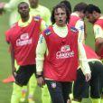 David Luiz está concentrado com a seleção brasileira na Granja Comary, em Teresópolis, Região Serrana do Rio