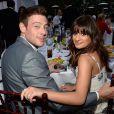 Lea Michele namorava o ator Cory Monteith, que interpretava Finn Hudson, seu par romântico na série