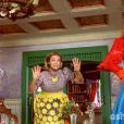 Gina (Paula Barbosa) reage mal ao saber que Ferdinando (Johnny Massaro) quer que ela seja sua primeira dama, em 'Meu Pedacinho de Chão'