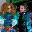 Ferdinando (Johnny Massaro) convida Gina (Paula Barbosa) para ir com ele ao gabinete do prefeito das Antas (Ricardo Blat) como sua futura primeira dama, em 3 de junho de 2014,em 'Meu Pedacinho de Chão'