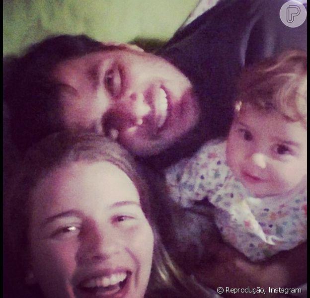 Maria Eduarda, filha de Debby Lagranha, completa 1 aninho nesta sexta-feira, 6 de junho de 2014
