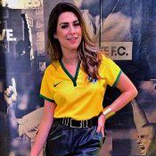 Fernanda Paes Leme comenta jogo da Seleção Brasileira: 'Neymar brilhou'