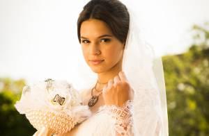 'Em Família': Helena manda seu vestido de noiva para Luiza. 'Advertência'