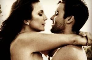 Ivete Sangalo posta foto romântica com o marido, Daniel Cady: 'Viva o papai'