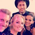 Bruna Marquezine esteve na festa de aniversário de Neymar, que contou com a presença de Luciano Huck e Angélica