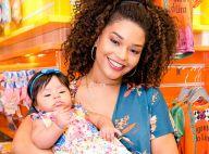 Juliana Alves concilia carnaval com filha, Yolanda: 'Deixo leite na mamadeira'