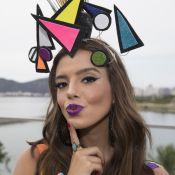 Gio Lancellotti combina glitter e batom em make de Carnaval. Veja como fazer!