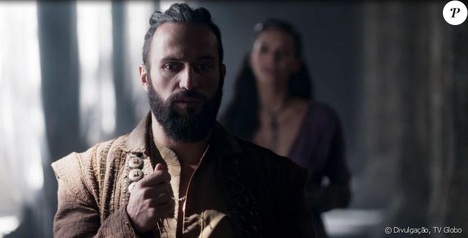 Na novela 'Deus Salve o Rei', Constantino (José Fidalgo) sequestrará Catarina (Bruna Marquezine) para não ser enforcado em Vicenza no capítulo que vai ao ar na quarta-feira, 14 de fevereiro de 2018