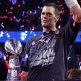 Tom Brady foi campeão peloNew England Patriots no Super Bowl de 2017, realizado em fevereiro