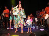 Carnaval em família! Neta de Preta Gil, Sol de Maria rouba a cena em camarote