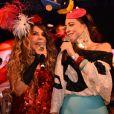 Elba Ramalho e Roberta Sá fizeram show na Queirogada