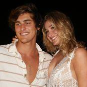 Sasha Meneghel e o namorado, Bruno Montaleone, se divertem pintando com aquarela