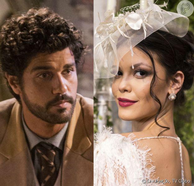 Na novela 'Tempo de Amar', Inácio (Bruno Cabrerizo) superará Maria Vitória (Vitória Strada) e irá para o Brasil tentar reconstruir sua vida em capítulo vai ao ar a partir do dia 28 d efevereiro de 2018