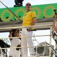 Pitbull não esteve no primeiro dia do Carnaval de Salvador, nesta quinta-feira, dia 8 de fevereiro de 2018