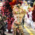 Madrinha da Independente, Sheila Mello quis fantasia menor: 'Livre para dançar'