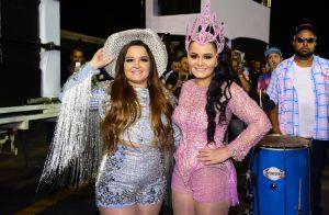 Maraisa muda fantasia em estreia no Carnaval com a irmã, Maiara: 'Mais corpo'