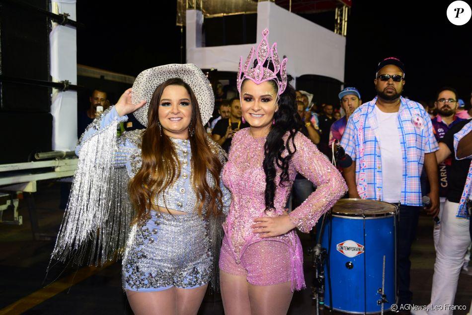 Maiara e Maraisa estreiam no Carnaval da Rosas de Ouro neste sábado, dia 10 de fevereiro de 2018