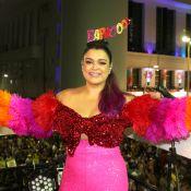 Preta Gil, com mechas rosas, comanda seu bloco de Carnaval em Salvador: 'Bapho'