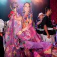 Isis Valverde brilhou como rainha do tradicional Baile do Copa, que teve como tema Gipsy Folie e as tradições ciganas, em 10 de fevereiro de 2018
