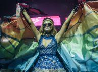De borboleta, Paris Hilton faz show como DJ em camarote de Salvador. Fotos!