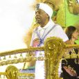 O enrendo da Vai-Vai exaltou a história e a carreira de Gilberto Gil