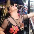 'Eu sou a sexta Rouge', brincou Fernanda Souza