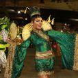Quitéria Chagas desfila pelo segundo ano seguido no Império Serrano