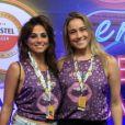 Fernanda Gentil, namorada de Priscila Montandon, falou da violência no Rio ao Purepeople: 'Carnaval dá espairecida'