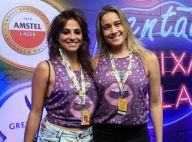 Fernanda Gentil leva a namorada para camarote da Sapucaí: 'Bom para espairecer'