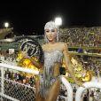 Sabrina Sato esteve em um camarote vip na  Marquês de Sapucaí no Carnaval do Rio de Janeiro neste domingo, 11 de fevereiro de 2018