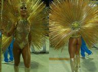 Sabrina Sato, rainha da Vila Isabel, usa look transparente: 'Luz da inspiração'