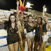 Angels da Victoria's Secret curtem Carnaval do Rio em camarote. Fotos!