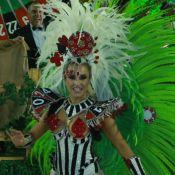 Musa da Grande Rio, Carla Diaz comeu hambúrguer antes de desfile:'E estrogonofe'