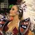 'Desejo para todas as outras escolas, até para que seja um Carnaval lindo e maravilhoso, acima de qualquer disputa de títulos', afirmou Carla Diaz