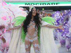 Silvero Pereira celebra diversidade no desfile da Mocidade: 'Veio com tudo'