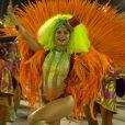 Julianne Trevisol desfilou como musa da Grande Rio
