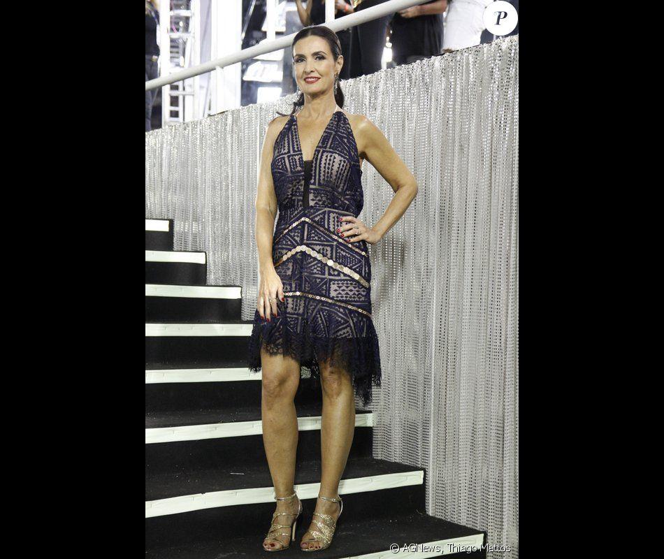 Fátima Bernardes Usa Vestido Elegante Em Segundo Dia De