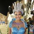 Sheron Menezzes é destaque do desfile de carnaval da Portela nesta segunda-feira de carnaval, 12 de fevereiro de 2018