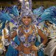 Bianca Monteiro é a rainha de bateria da Portela, maior campeã do carnaval do Rio