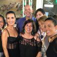 Fátima Bernardes apostou em transparência para narrar a primeira noite de desfiles do Grupo Especial do carnaval. 'Quando escolhemos uma roupa, um figurino, é para que as pessoas gostem', disse ao site G1