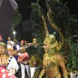Viviane Araújo, rainha do Salgueiro, admite frio na barriga antes de desfile: 'Sempre dá!'
