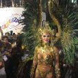 Viviane Araújo está há 11 anos à frente da bateria do Salgueiro