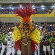 Cris Vianna se despediu do Carnaval da Imperatriz em 2017