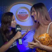 Carol Sampaio lista combustíveis para a folia: 'Energético e adrenalina'. Vídeo!