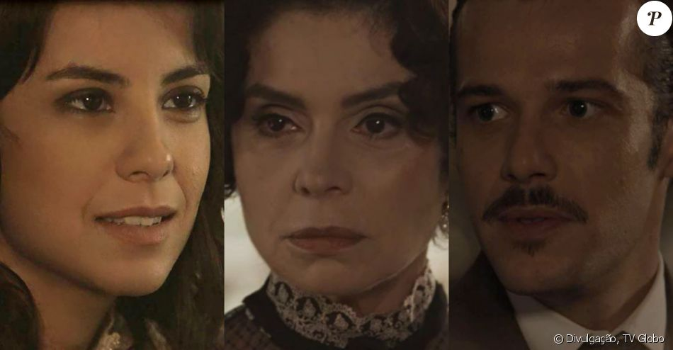Na novela 'Tempo de Amar', Lucinda (Andreia Horta) contará com Fernão (Jayme Matarazzo) para acelerar o plano de roubar o dinheiro de Emília (Françoise Forton) em capítulo que vai ao ar dia 6 de março de 2018