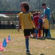 Zé Felipe (Leonardo Oliveira) participa da peneira para o clube de futebol, no capítulo que vai ao ar terça-feira, dia 20 de fevereiro de 2018, na novela 'Carinha de Anjo'