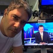 William Bonner revela que não vai apresentar Jornal Nacional por conta de gripe
