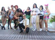 Sabrina Sato, Gio Ewbank e mais famosas usam looks de clipes de Anitta em bloco
