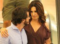 Túlio Gadêlha posta vídeo com Fátima Bernardes e se declara: 'Minha parceira'
