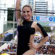 Claudia Leitte arrastou multidões com seus trios em Salvador